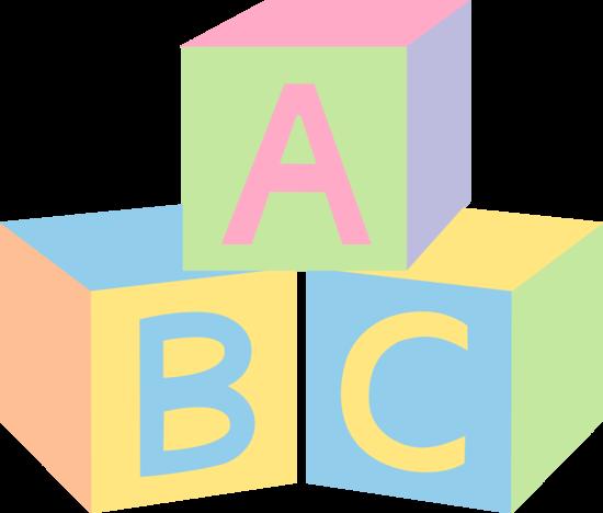 Pastel Baby Blocks