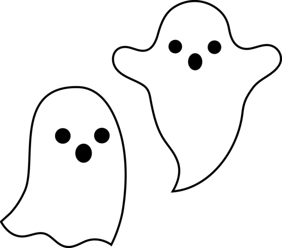 Cute Ghosts Halloween Design