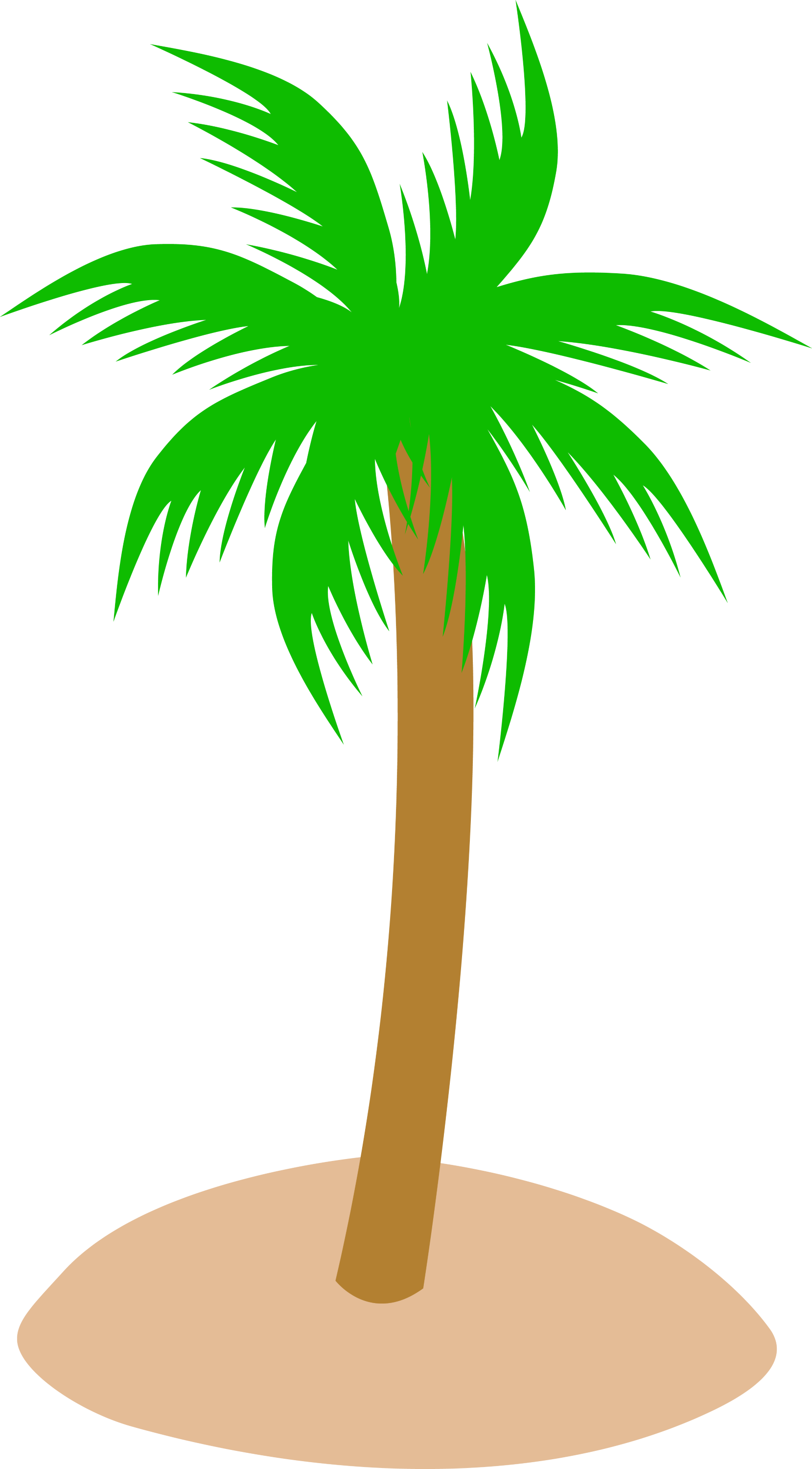 palm tree clip art - photo #10